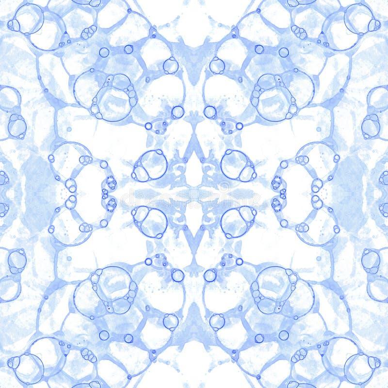 фиолет картины безшовный Изумительное чувствительное bub мыла стоковая фотография rf