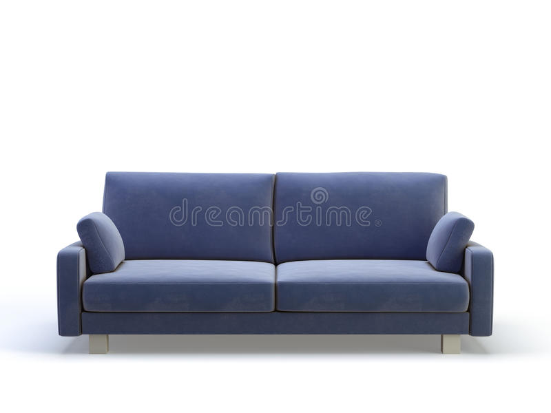 фиолет софы стильный иллюстрация штока