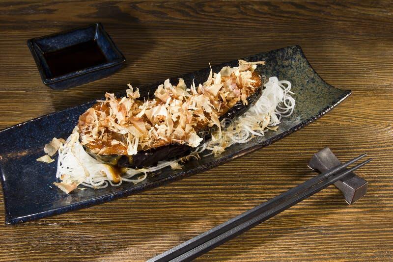 Фиолетовая еда японца баклажана стоковые фотографии rf