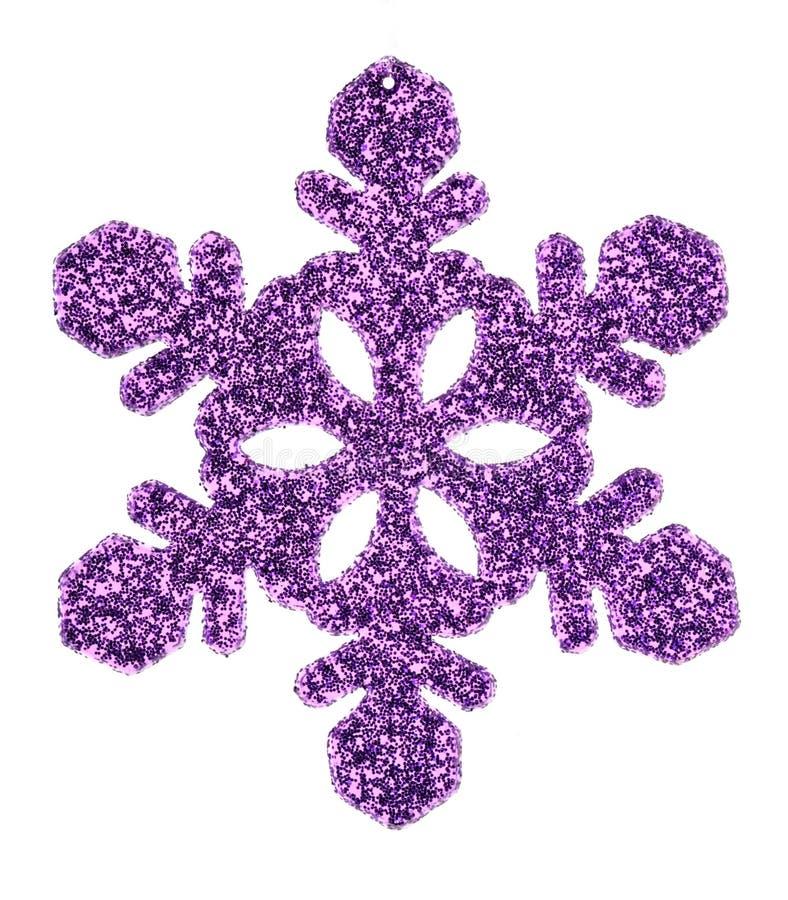 Фиолетовая звезда рождества стоковые фото