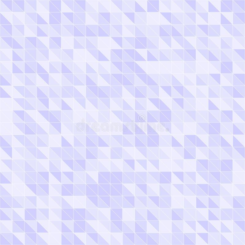 Фиолетовая картина треугольника вектор предпосылки безшовный бесплатная иллюстрация