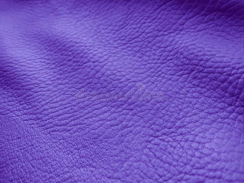Фиолетовая кожаная предпосылка - фото запаса стоковое изображение rf