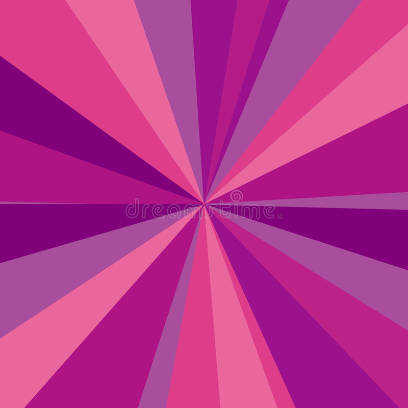 Фиолетовая, красная и розовая предпосылка лучей вектор иллюстрация штока