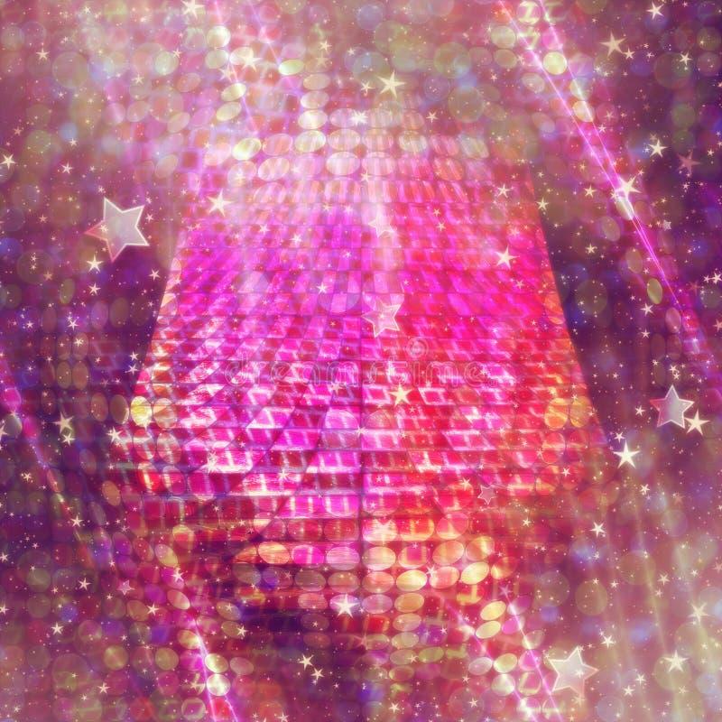 Фиолетовая предпосылка конспекта цвета иллюстрация штока