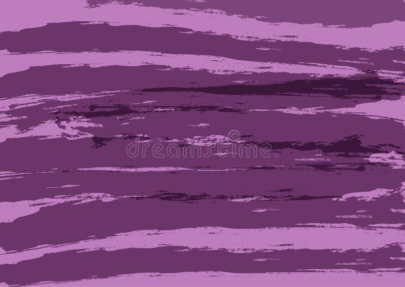 Фиолетовая предпосылка при нашивки покрашенные щеткой Grunge, эскиз, акварель, граффити иллюстрация штока