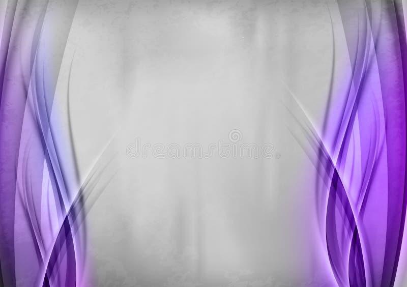 Фиолетовая предпосылка иллюстрация вектора