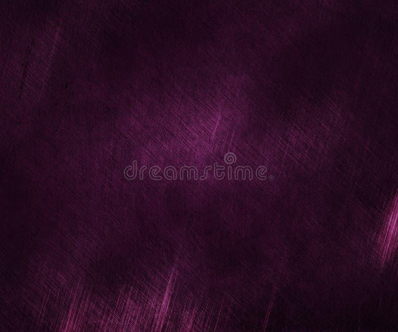 Фиолетовая текстура предпосылки металла иллюстрация штока
