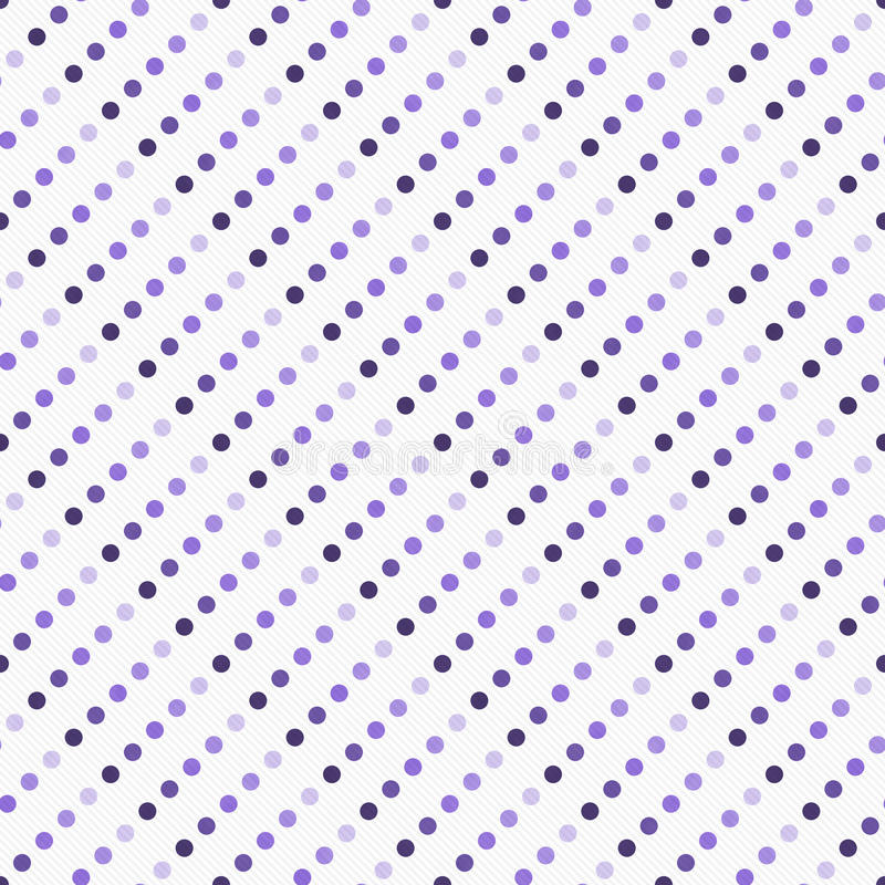 Фиолетовое пестротканое и белое PA плитки дизайна конспекта точки польки бесплатная иллюстрация