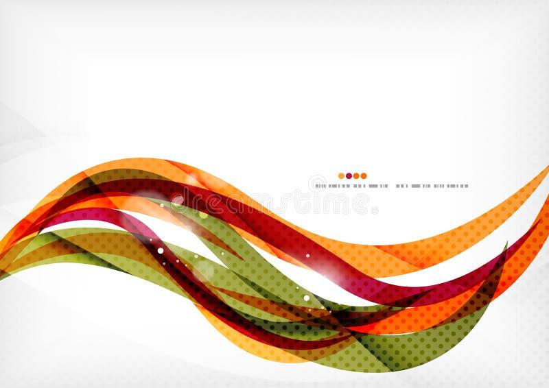 Фиолетовые и оранжевые цветные барьеры бесплатная иллюстрация