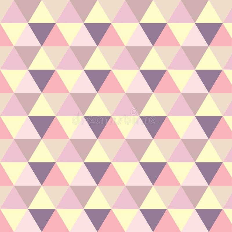 Фиолет картины pastele Romb оранжевый бесплатная иллюстрация