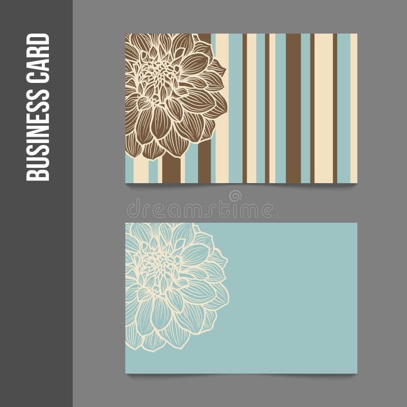 Фирменный стиль - визитные карточки иллюстрация штока
