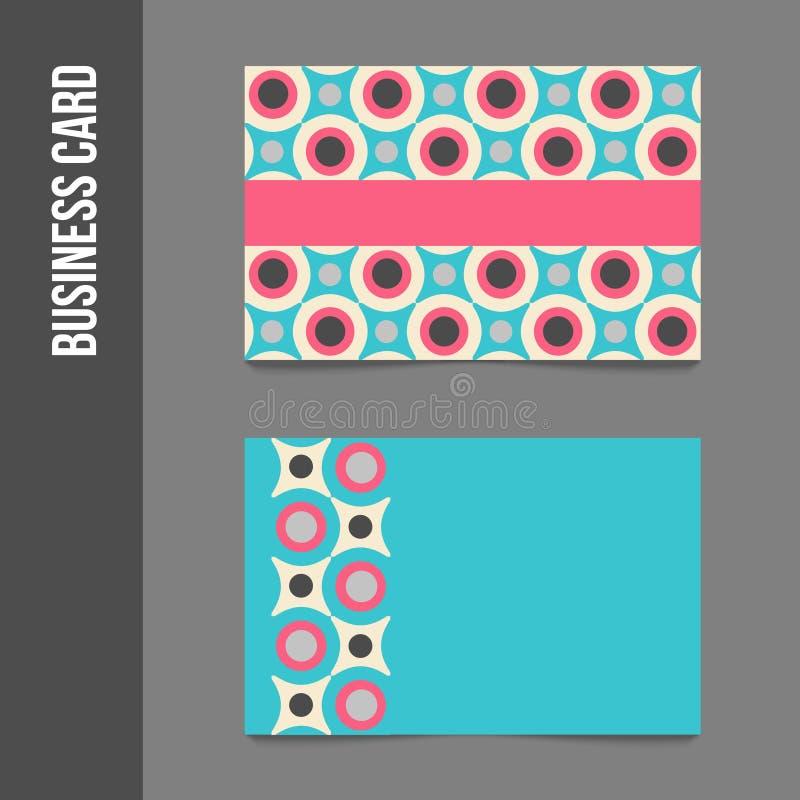 Фирменный стиль - визитные карточки бесплатная иллюстрация