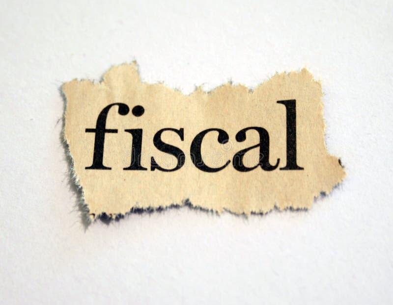 фискально стоковое изображение rf