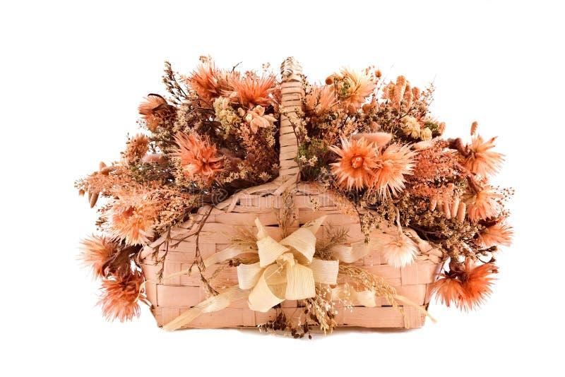 фитиль декоративного поддельного flowe корзины традиционный стоковая фотография