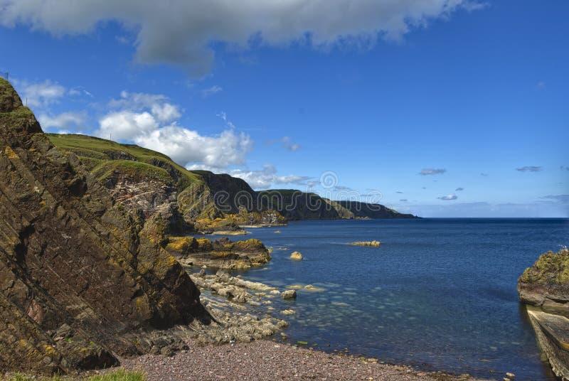 фитиль st Шотландии pettico головки berwickshire abbs стоковая фотография