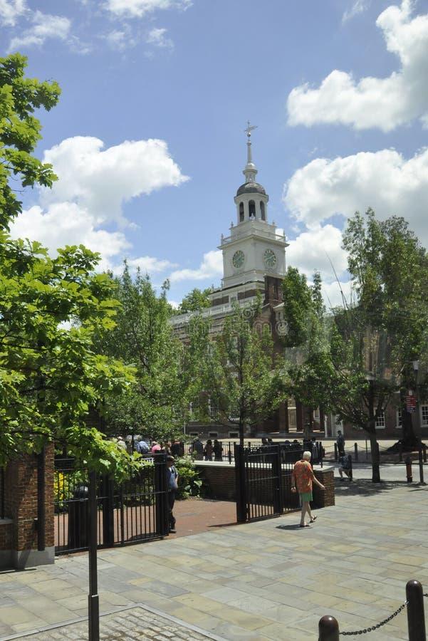 Download Филадельфия, 4-ое августа: Башня Hall независимости от Филадельфии в Пенсильвании Редакционное Стоковое Фото - изображение насчитывающей строя, культурно: 81811983
