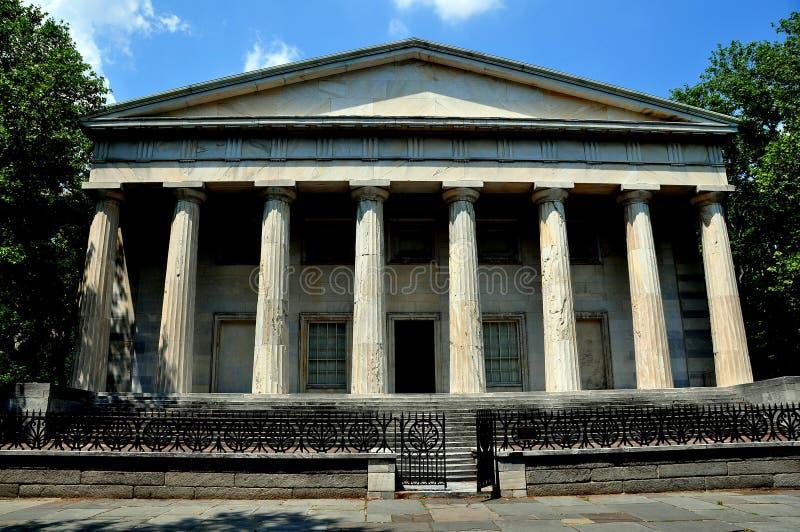 Филадельфия, PA: Второй банк Соединенных Штатов стоковые изображения