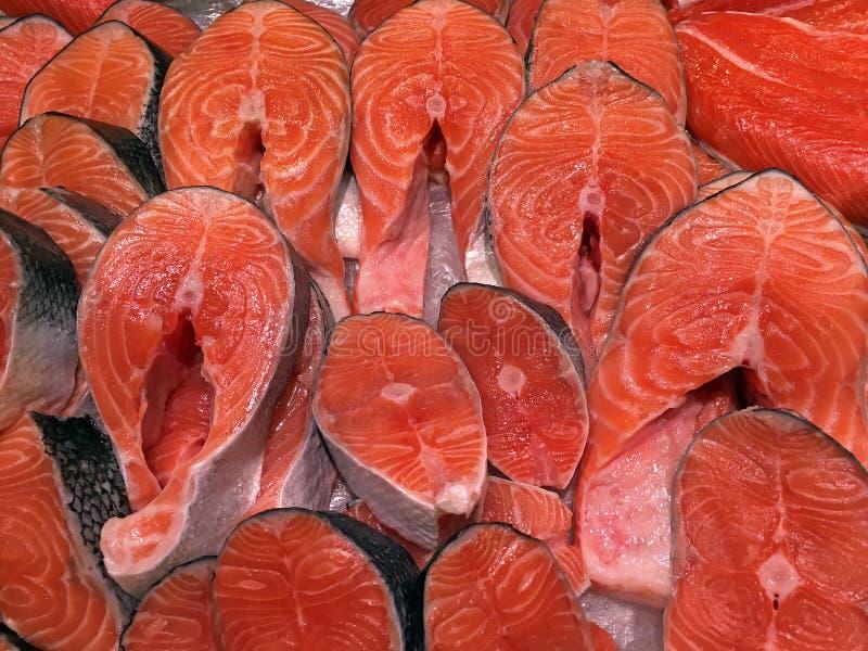 Филе красного крупного плана рыб стоковые фото