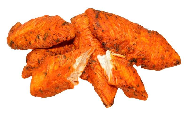 Филе цыпленка Tandoori стоковая фотография