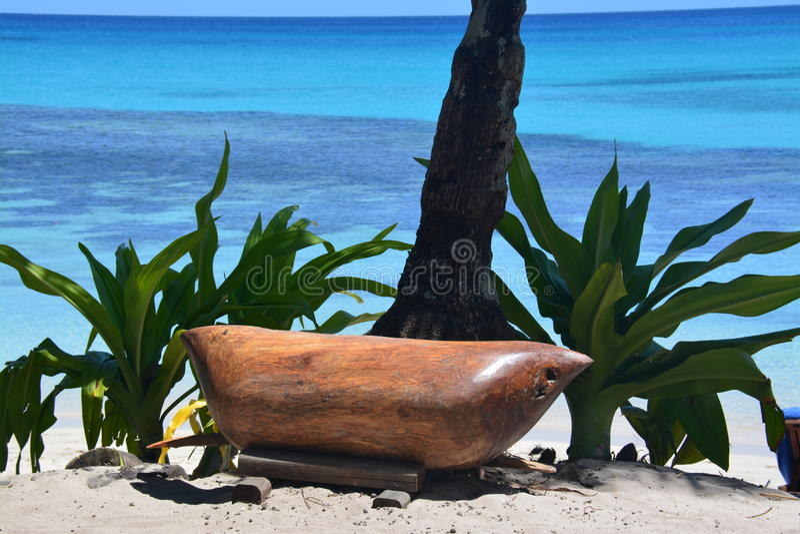 Фиджийский гонг стоковое изображение