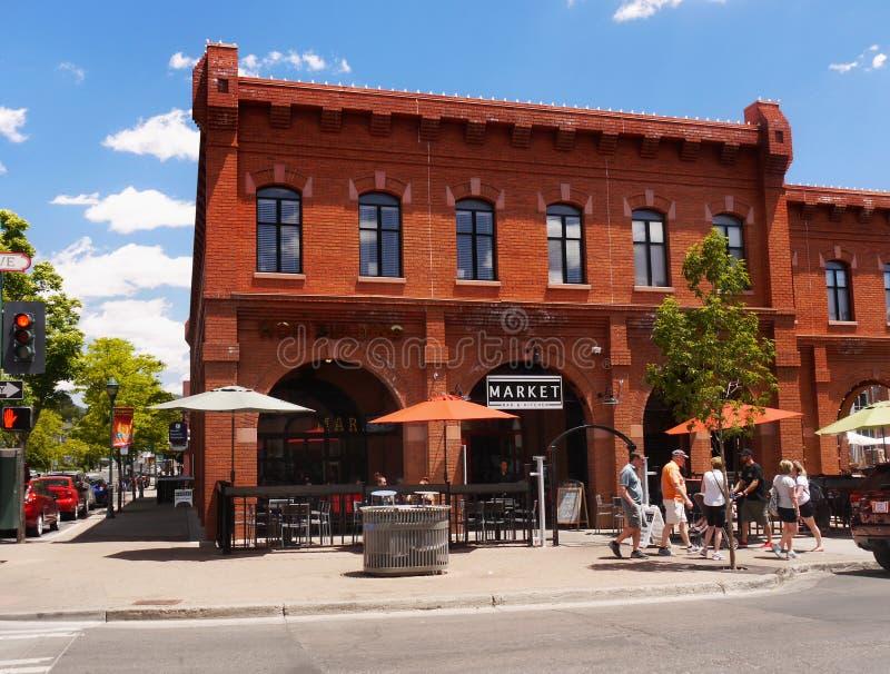 Флагстафф городской, Аризона, США стоковое изображение rf