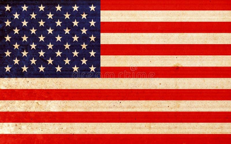 флаг америки иллюстрация вектора