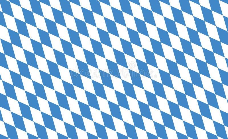 флаг Баварии бесплатная иллюстрация