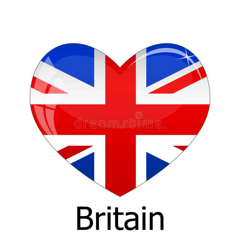 флаг Британии иллюстрация вектора