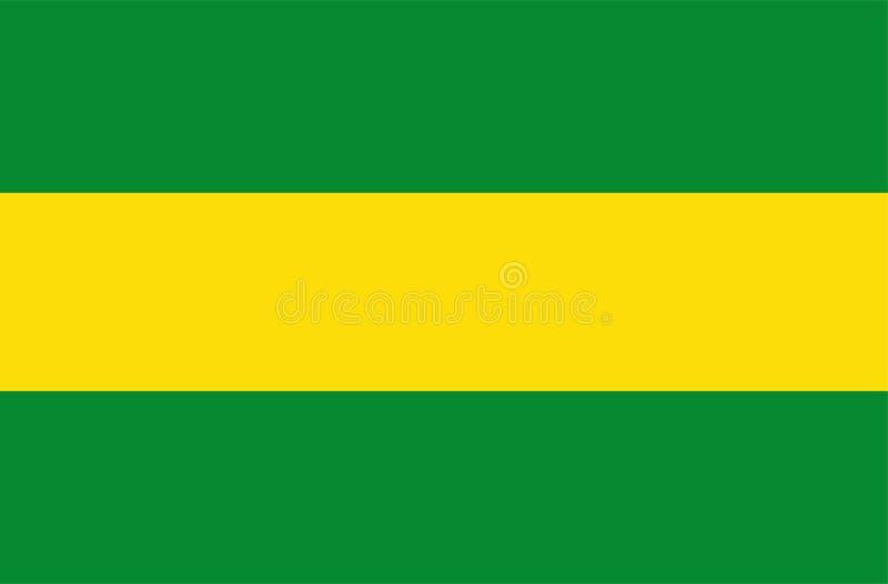 Флаг вектора Cauca, Колумбия бесплатная иллюстрация