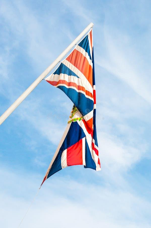 Флаг Великобритании, обыкновенно известный как Юнион Джек стоковые изображения rf