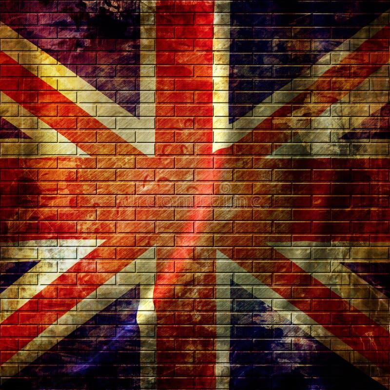 Флаг Великобритании иллюстрация штока