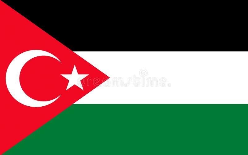 Флаг Газа, Палестины бесплатная иллюстрация
