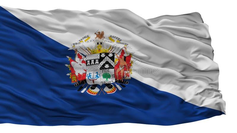 Флаг города Osorno, Чили, изолированная на белой предпосылке бесплатная иллюстрация