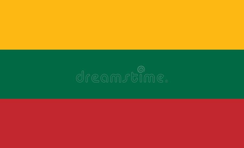 Флаг Госсовета предпосылки Литвы для редакторов и дизайнеров Национальный праздник бесплатная иллюстрация