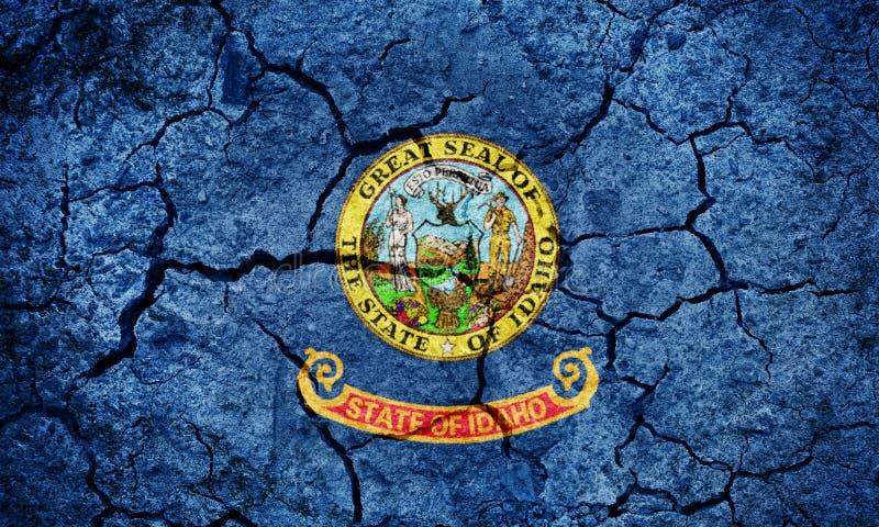 Флаг государства Айдахо стоковые фото