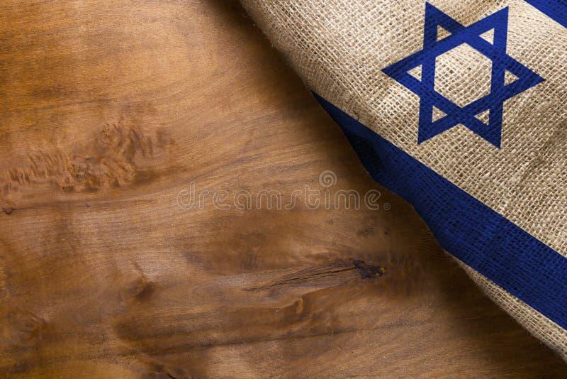 Флаг государства Израиля стоковая фотография rf