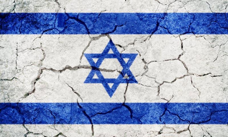 Флаг государства Израиля стоковые изображения rf