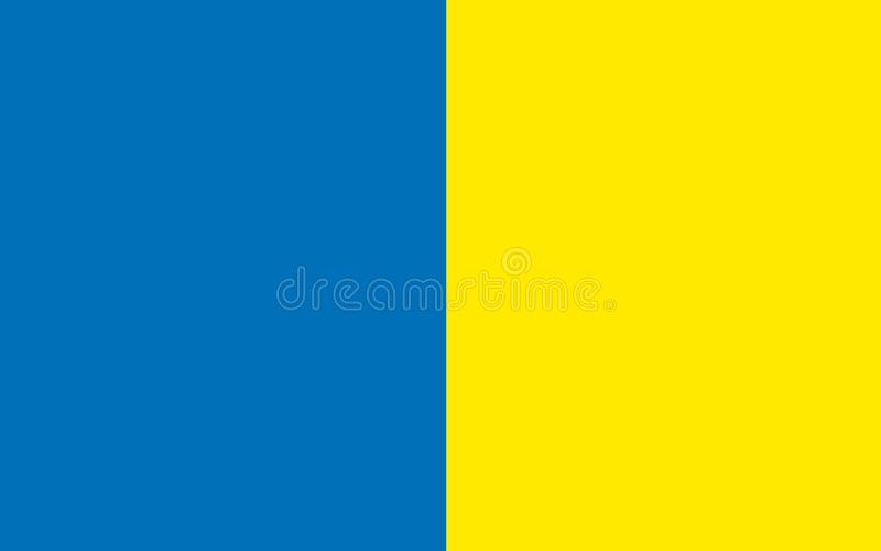 Флаг графства Roscommon графство в Ирландии бесплатная иллюстрация