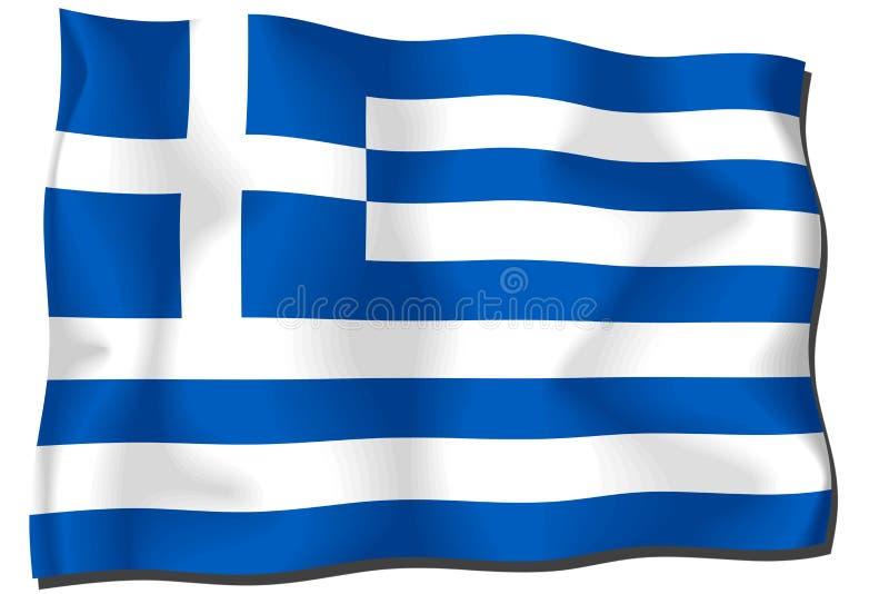 Download флаг Греция иллюстрация штока. иллюстрации насчитывающей страна - 6865193