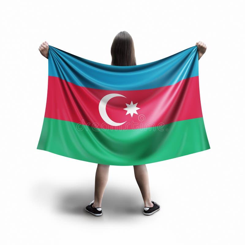 Флаг женщин и Азербайджана стоковые изображения rf