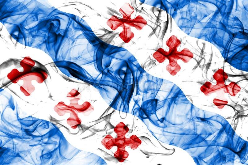 Флаг задымления городов Роквилла, положение Мэриленда, Соединенные Штаты Америки бесплатная иллюстрация