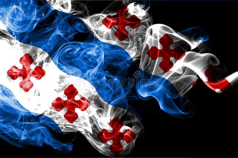 Флаг задымления городов Роквилла, положение Мэриленда, Соединенные Штаты Америки иллюстрация штока