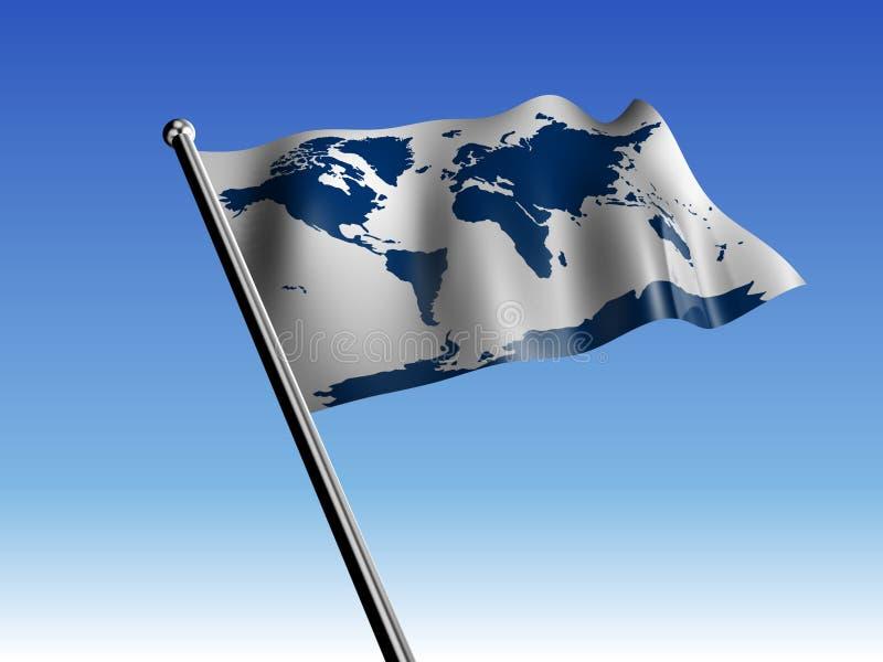флаг земли иллюстрация вектора