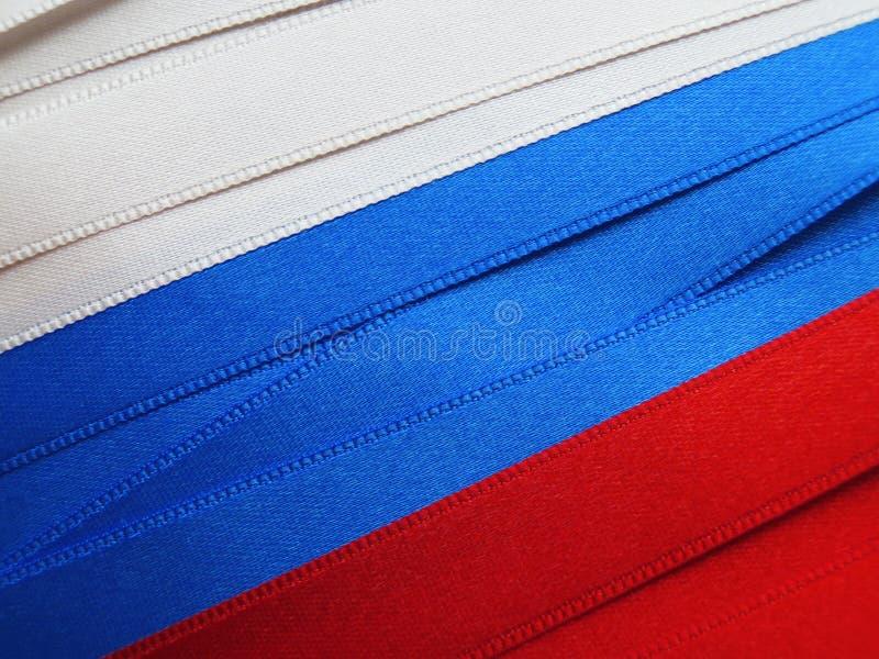 Флаг или знамя России стоковая фотография rf