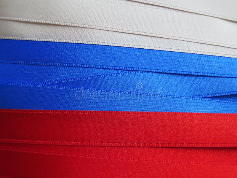 Флаг или знамя России стоковые изображения