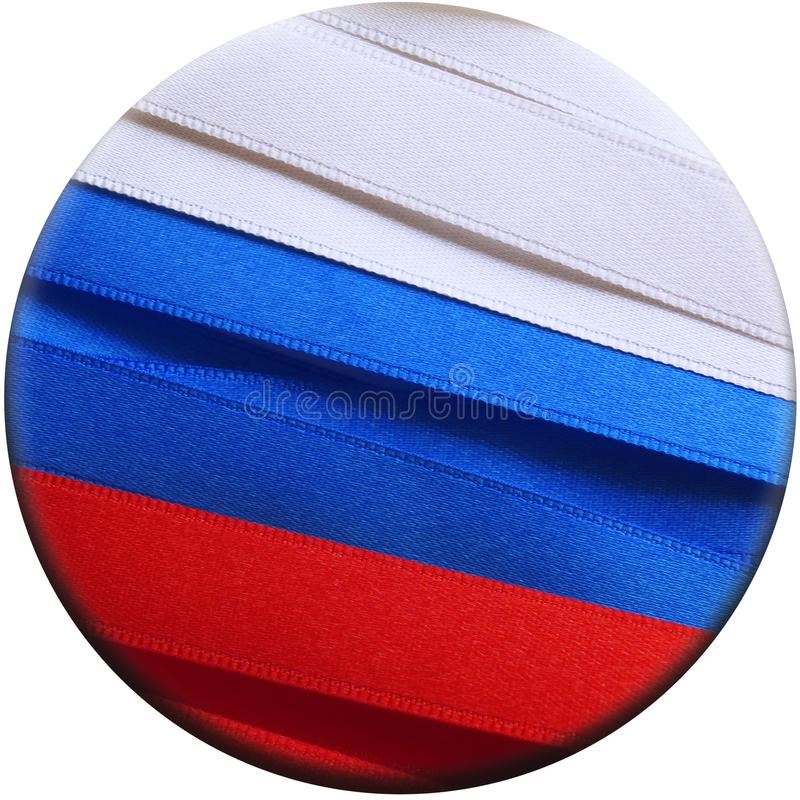 Флаг или знамя России стоковая фотография