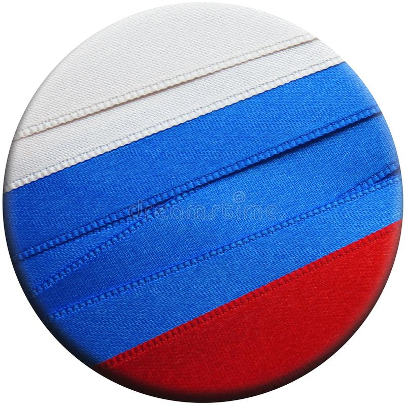 Флаг или знамя России стоковое изображение