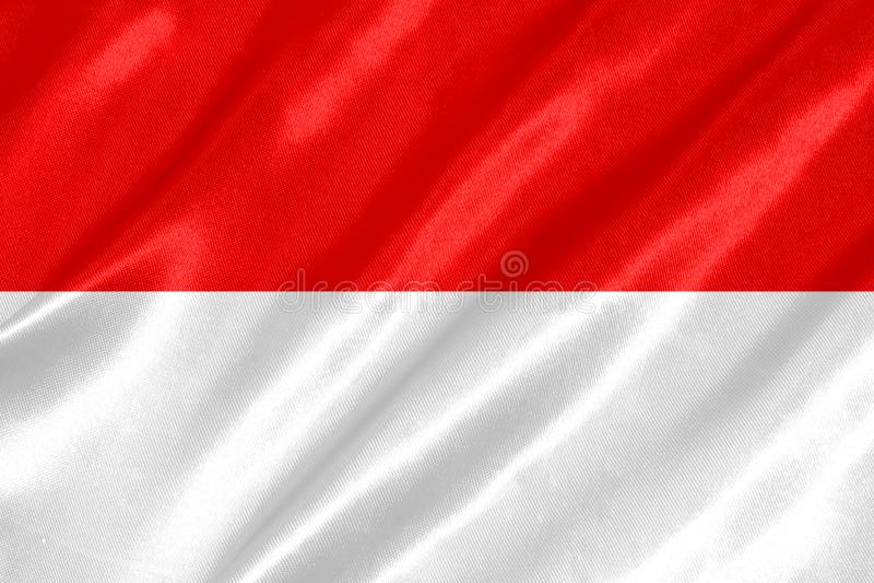 Флаг Индонезии бесплатная иллюстрация