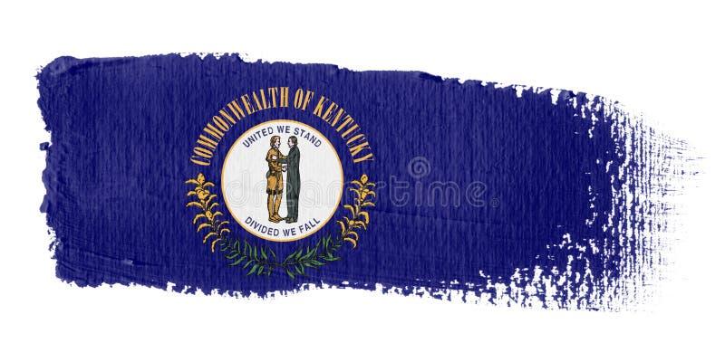 флаг Кентукки brushstroke бесплатная иллюстрация