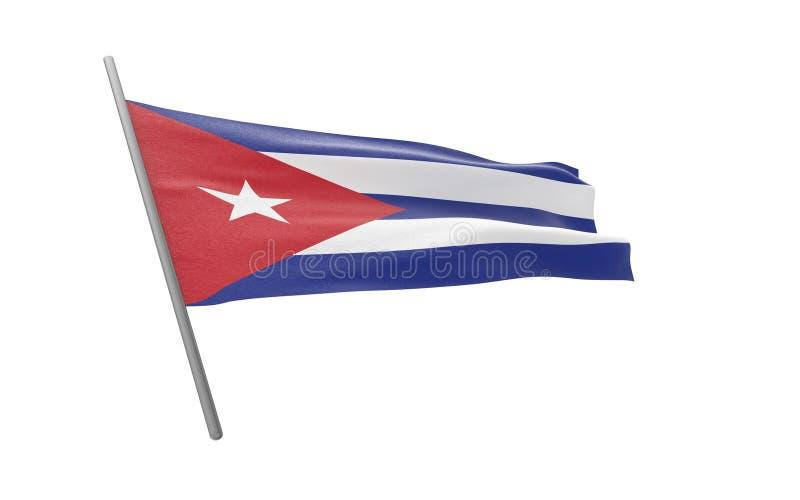 Флаг Кубы бесплатная иллюстрация